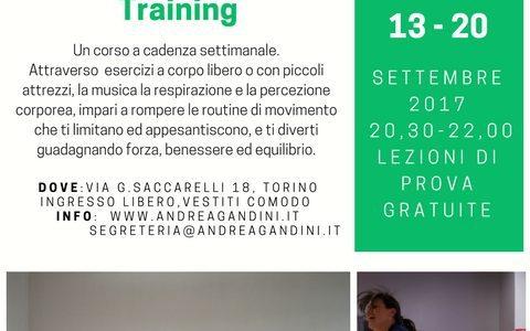 """RIPARTE IL CORSO """"STOPPING MOVEMENT TRAINING"""""""