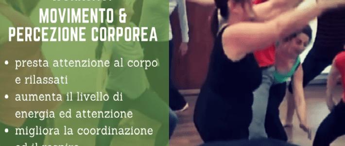 MOVIMENTO E PERCEZIONE CORPOREA – WORKSHOP E CORSO