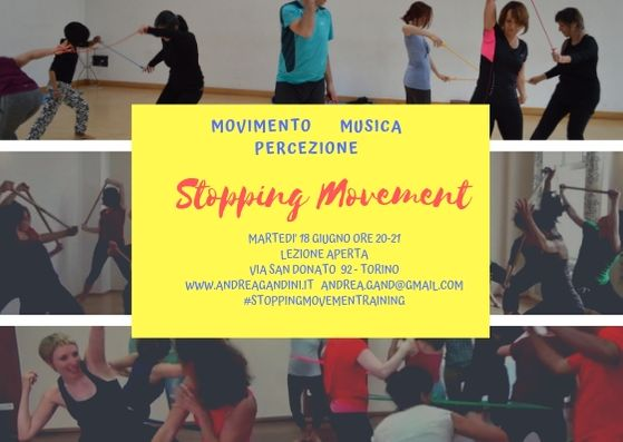 STOPPING MOVEMENT LEZIONE APERTA