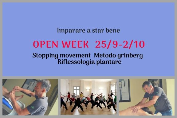 OPEN WEEK IMPARARE A STAR BENE